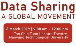 Invitation from the NTU Library: Data Sharing – A Global Movement